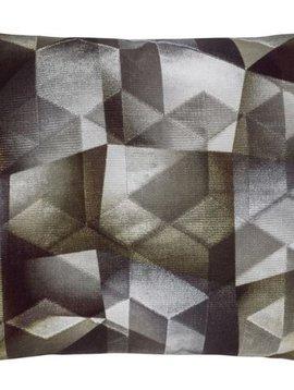 Designers Guild Kissen Maurier Graphite 60x45cm