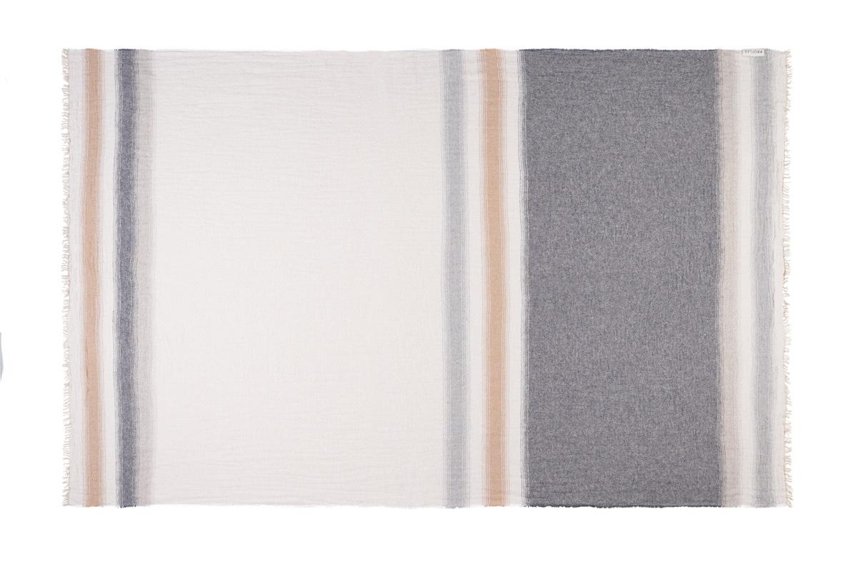 PROFLAX Plaid Junior 130x200cm Farbe Natur