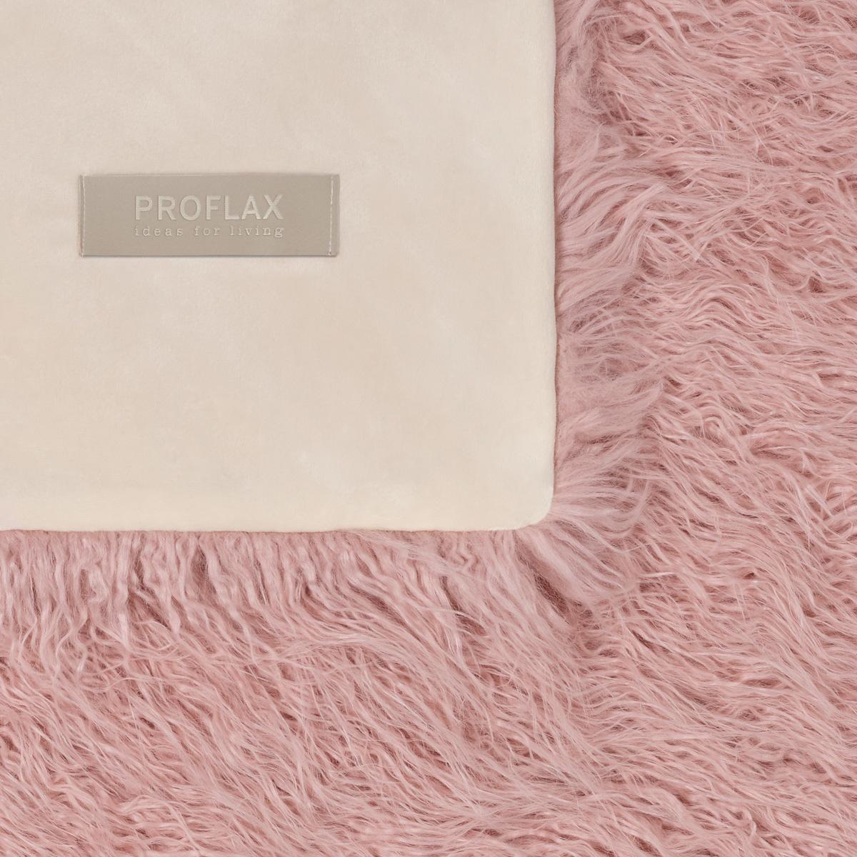 PROFLAX Plaid Oscar 135x180cm Farbe Nude