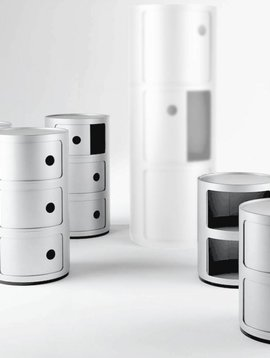 Kartell Componibili Farbe weiss