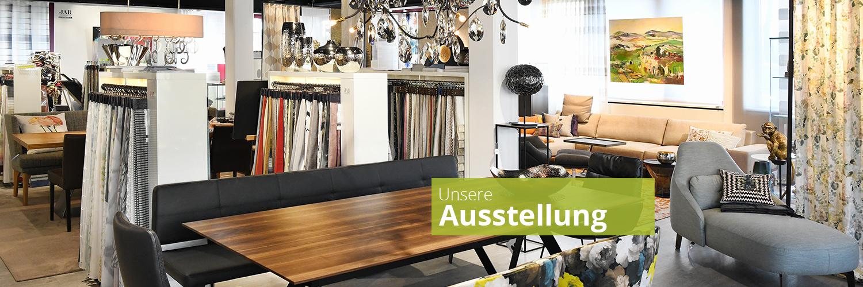 Unsere Ausstellung Wohndekor Müller