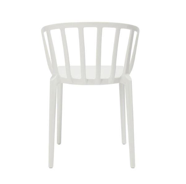 Kartell Stuhl Venice Farbe Weiß