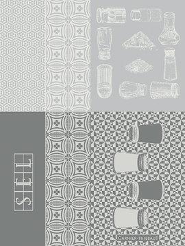 Garnier Thiebaut Geschirrtuch Salieres Blanc 56x77cm