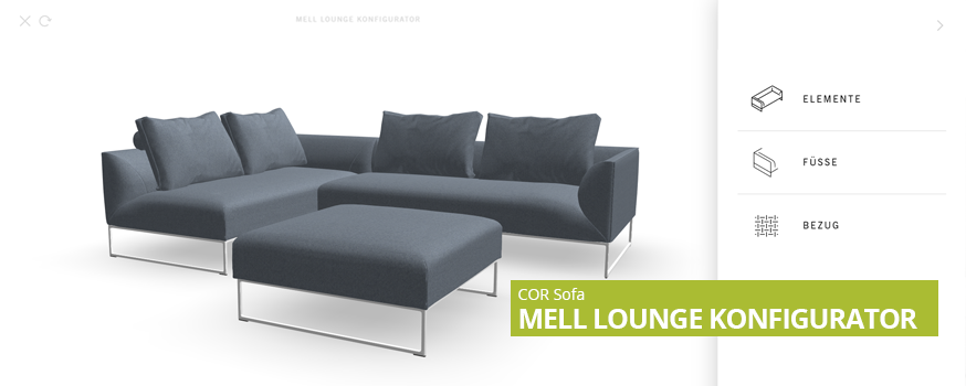 COR Mell Lounge Knfigurator