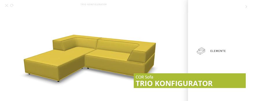 COR Trio Konfigurator