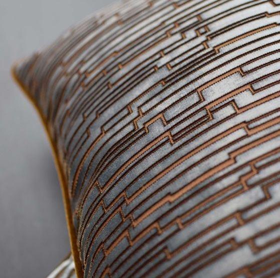 Rohleder Kissen Bond Eternity 60x40cm Farbe Glasier