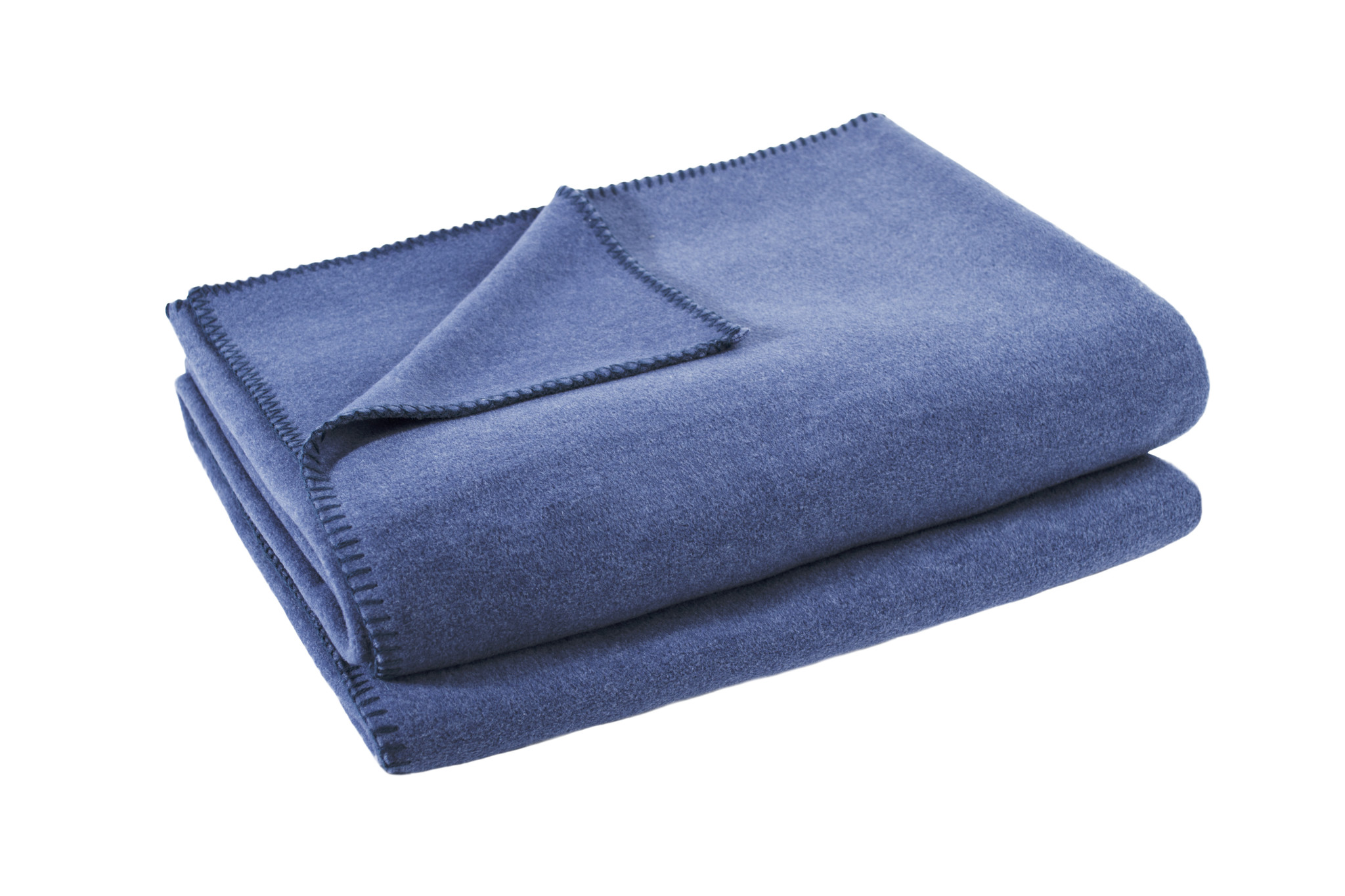 zoeppritz Soft-Fleece 160x200cm Farbe 540 blau