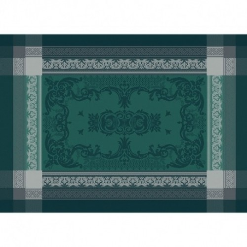 Garnier Thiebaut Tischset Fontainbleau Vert Profond 54x39cm