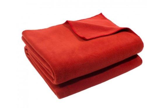 zoeppritz Soft-Fleece 160x200cm Farbe rost