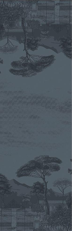 Garnier Thiebaut Tischläufer Palazzina Crépuscule 54x180cm