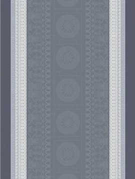 Garnier Thiebaut Tischläufer Roma Ardoise 54x180cm
