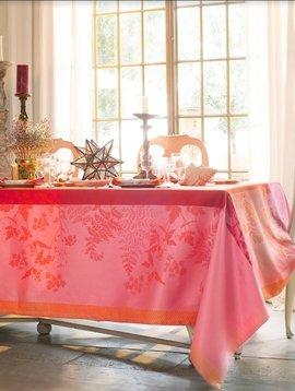 Garnier Thiebaut Tischdecke Ombelles rose 174x254cm