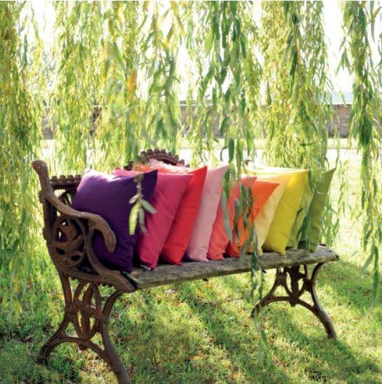 Garnier Thiebaut Kissenhülle Confetti 50x50cm Farbe: abricot