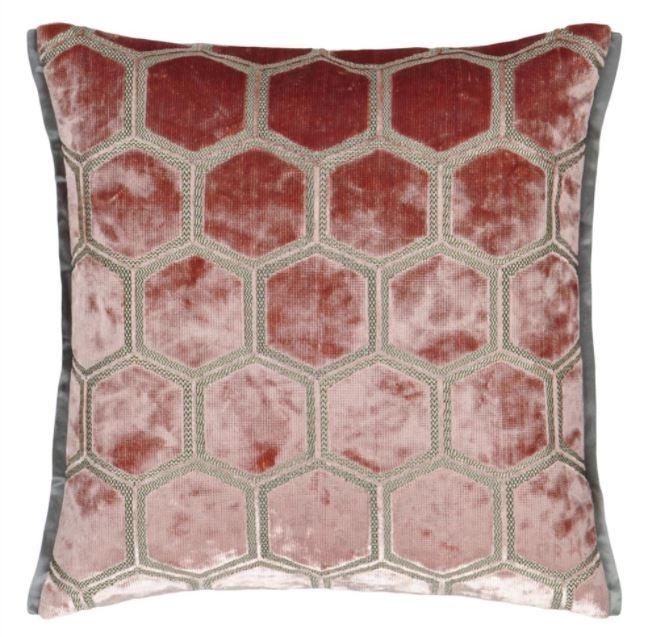Designers Guild Kissen Manipur Coral 43x43cm