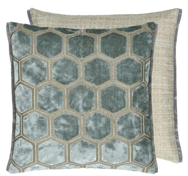 Designers Guild Kissen Manipur Silver 43x43cm