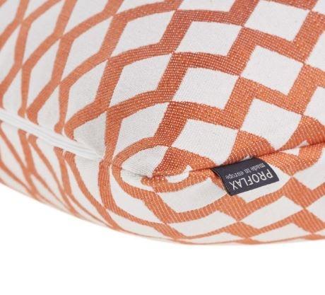 PROFLAX Kissenbezug Matteo 40x40cm Farbe orange