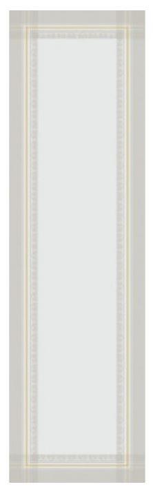 Garnier Thiebaut Tischläufer Galerie de Glaces 52x180cm Farbe vermeil