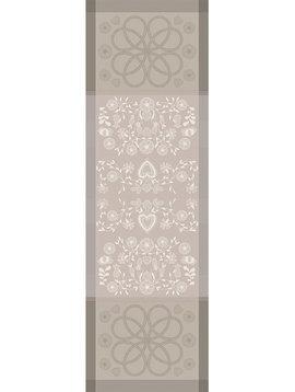 Garnier Thiebaut Tischläufer American Folk Boulau Coton Bio 55x175cm
