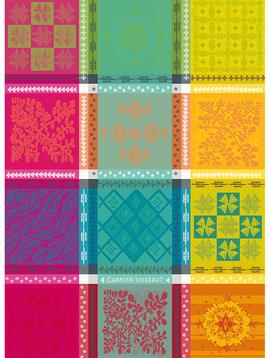 Garnier Thiebaut Geschirrtuch Mille Pueblo Fiesta 56x77cm
