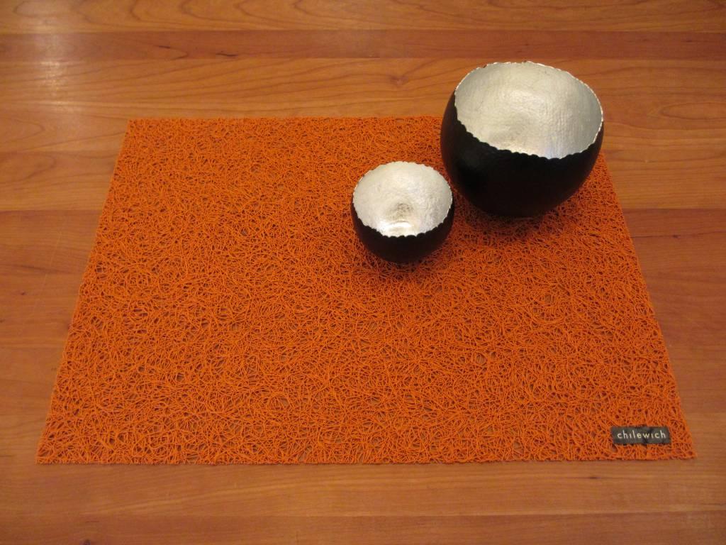 chilewich Tischset Spun orange