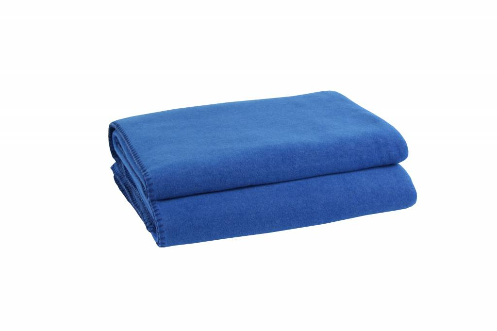 zoeppritz Soft-Fleece 160x200 cm, royalblau, Farbe 565