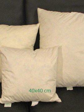 Feder Kissenfüllung 40x40 cm