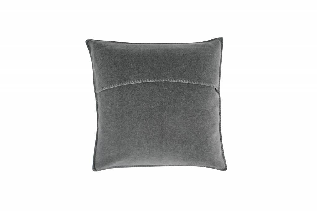 zoeppritz Kissenbezug COSY 50x50 cm, mittelgrau Farbe 940