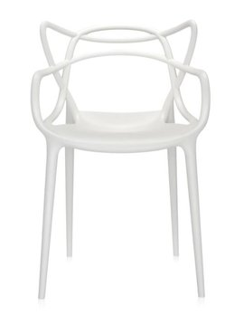 Kartell Stuhl  Masters by Philippe Starck Farbe weiß