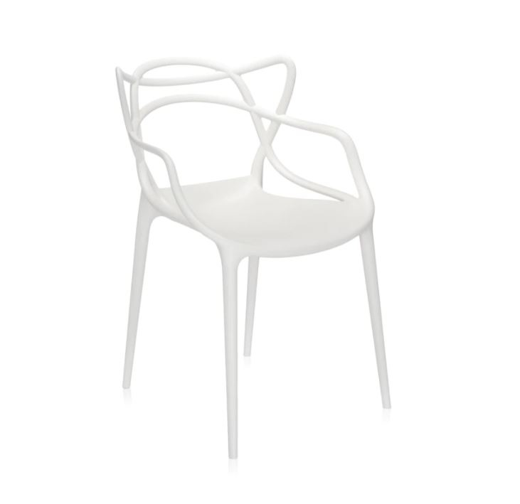 Kartell Stuhl  Masters by Philippe Starck mit Eugeni Quitllet, Farbe weiß