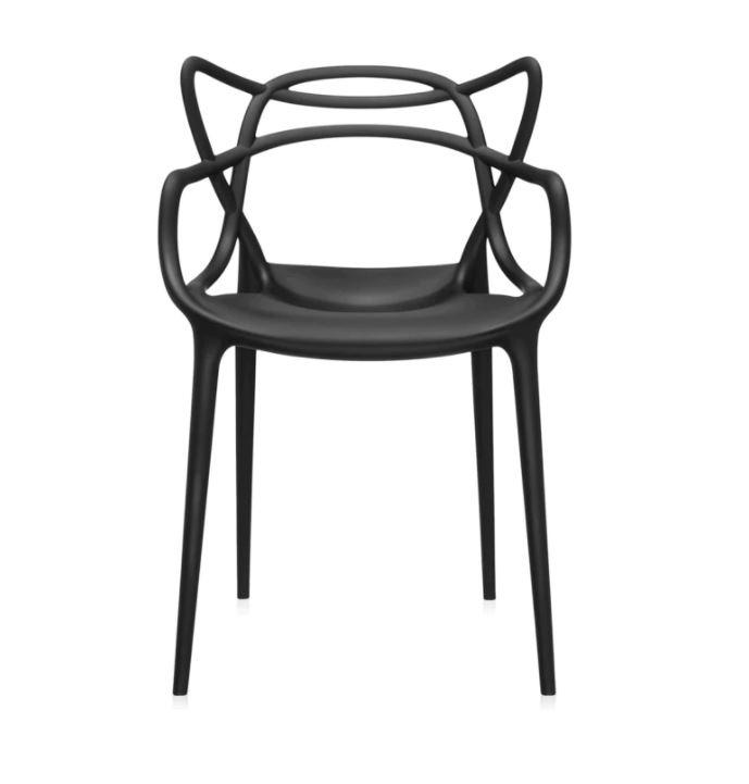 Kartell Stuhl  Masters by Philippe Starck mit Eugeni Quitllet, Farbe Schwarz