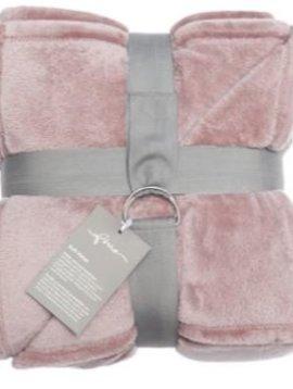 fine Plaid Softvelvet, rosé, 140/200cm