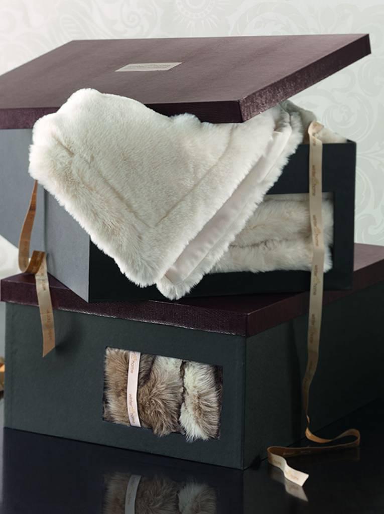 Winter Home Webpelzdecke Marmota, 140 / 200 cm