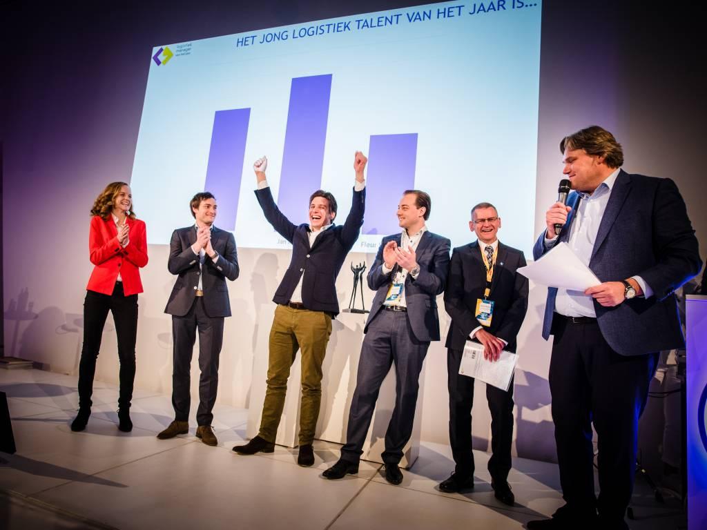 Retourplaza directeur winnaar Jong Logistiek Talent van het jaar 2017