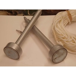 Magneten Staafmagneet 240 KG met 25 meter touw