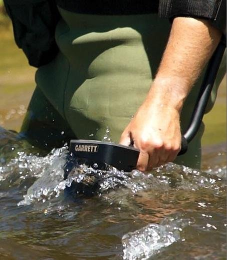 Garrett AT PRO METAALDETECTOR land strand onderwater detector