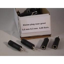 hoofdtelefoon plug Verloop plug