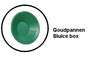 Goudpannen Sluice Box