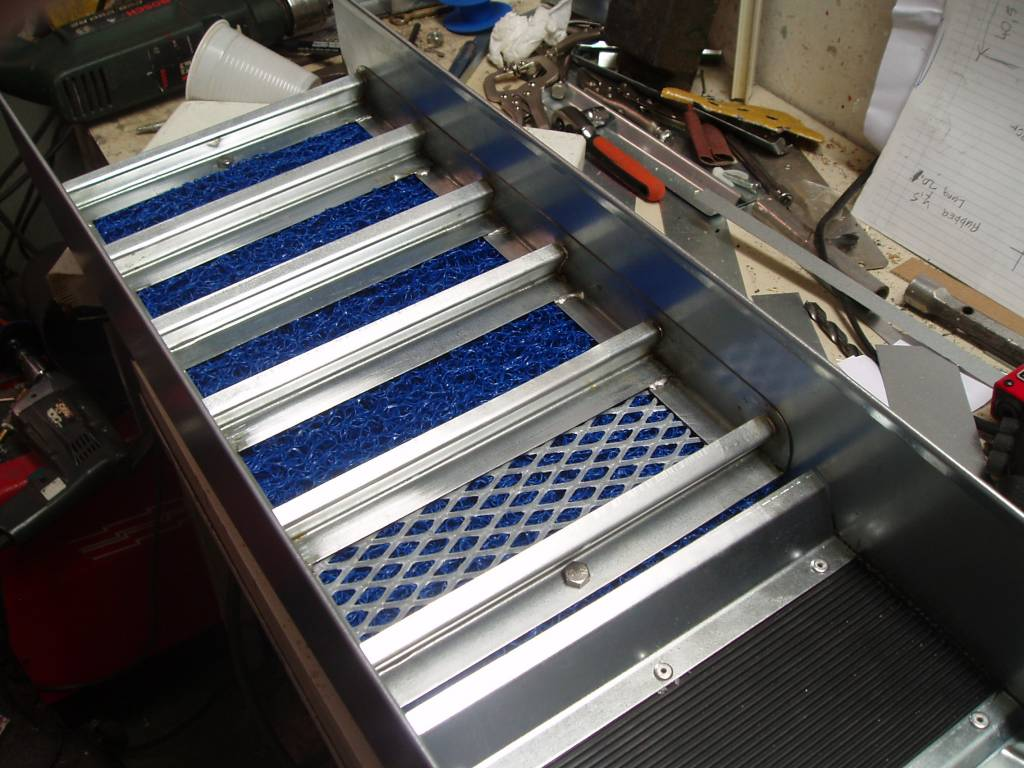 Sluicebox Sluis box voor waterpomp