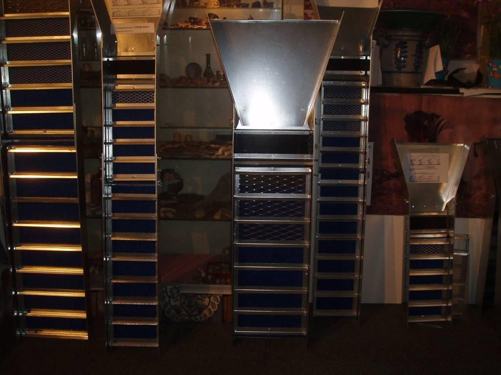 sluice box Sluicebox deze is voor met een waterpomp