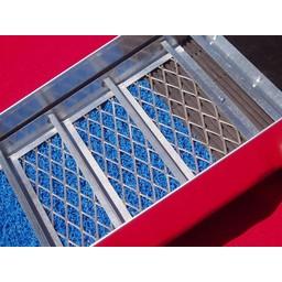 sluice box Sluicebox  Voor met een waterpomp 135x31 cm