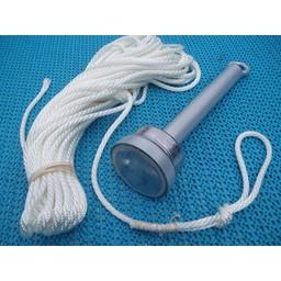 Magneet Magneetvissen s 160 KG met lood verzwaring en 25 meter touw