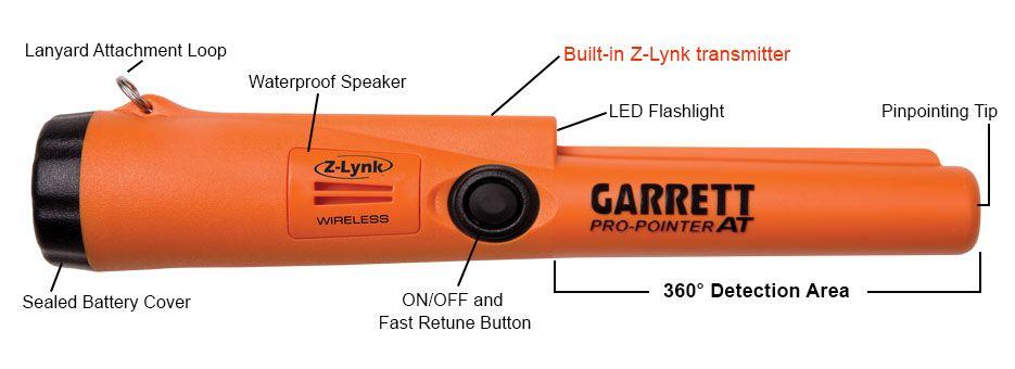 Garrett Garrett  Pin Pointer Z-Lynk draadloos