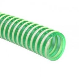Slang PVC  Kleur: Groen  Binnen maat 2,5 cm.