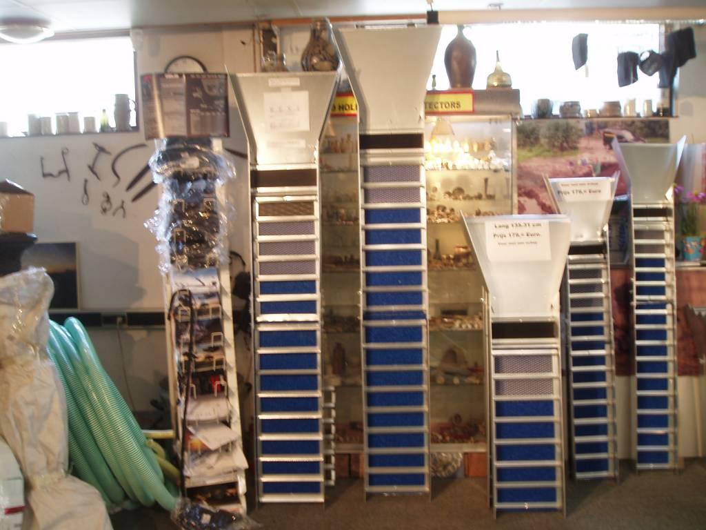 Sliusbox Sluisbox Model lang voor Schep 215 x 31  cm