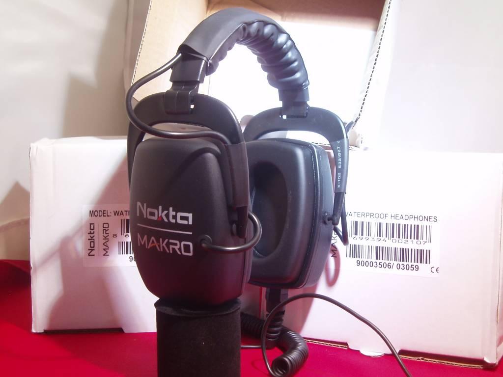 Makro Simplex Multi Kruzer onderwater hoofdtelefoon van Makro.