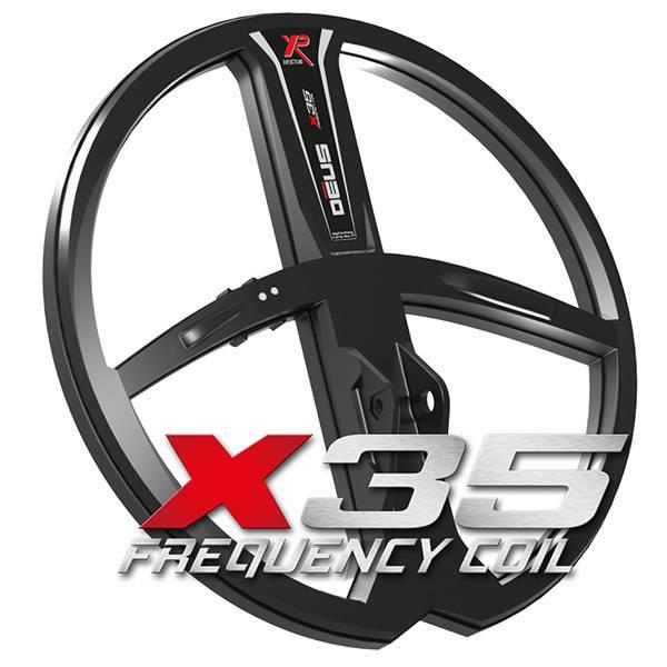 XP Coil X35 28 cm voor de XP Deus met up-5.2