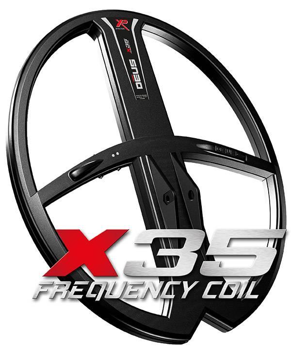 XP  Deus X35 Coil 34x28 bieden je de mogelijkheid