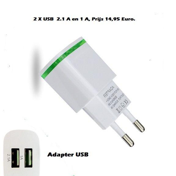 tijd schakelaar Elektrische tijd schakelaar 220 Volt + Oplaad adapter. USB