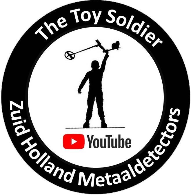Strijk stikers Strijkstickers The Toy Soldier & Zuid Holland Metaaldetectors
