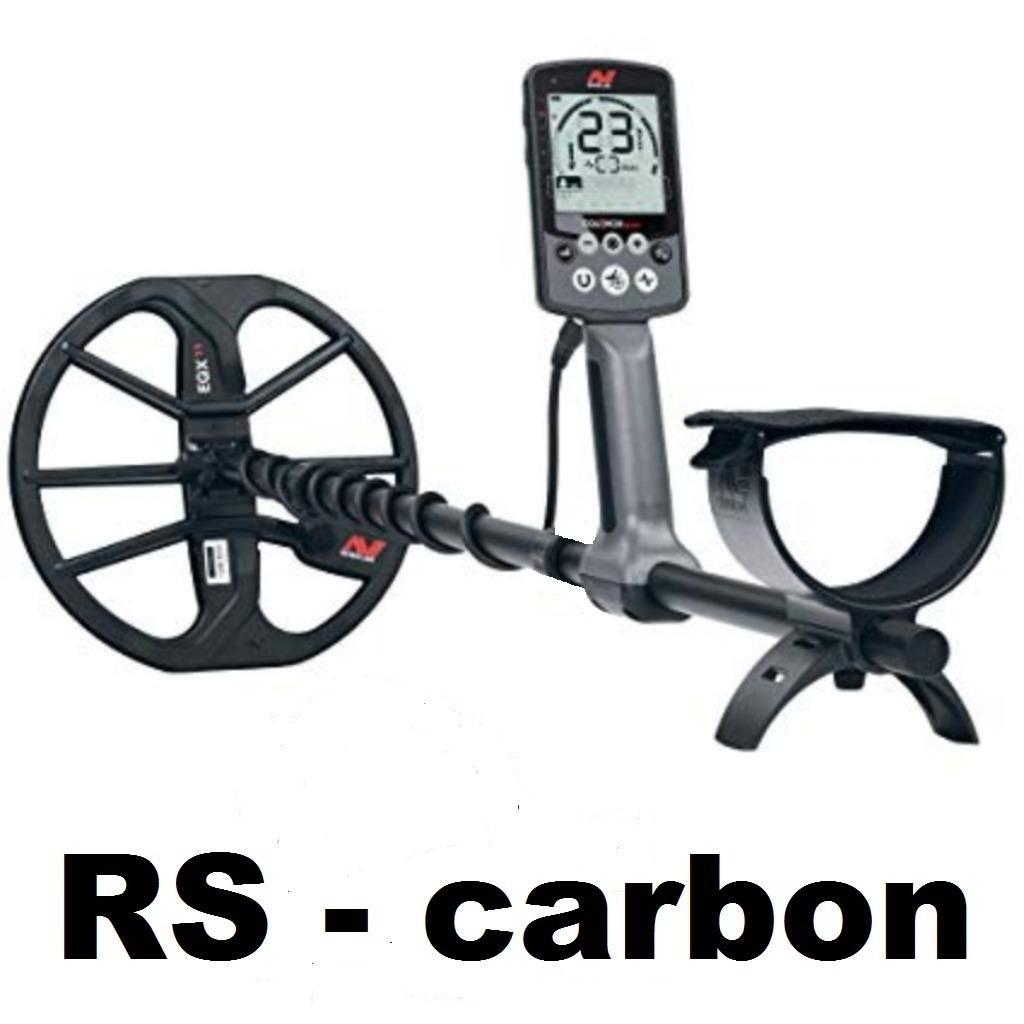 Minelab RS - carbon bovensteel voor de Minelab  Equinox 600 en 800